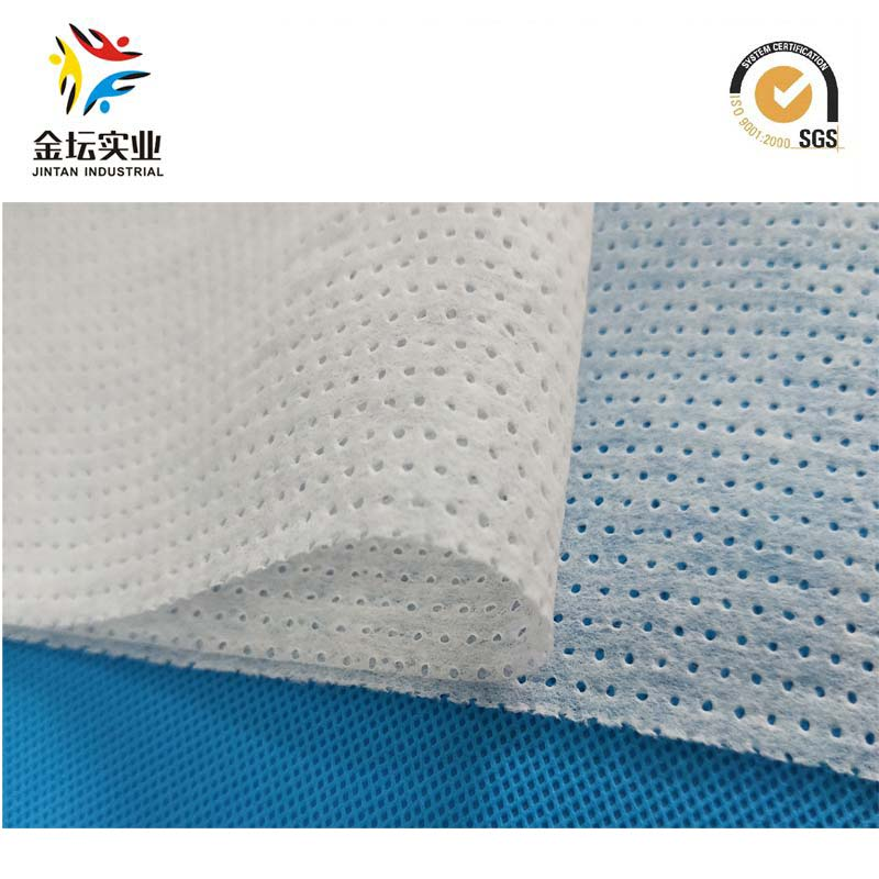 High Quality Perforated Hydrophilous Nonwoven for Baby Nappy Top Sheet(k03)